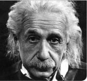 Albert-Einstein-nachdenklich